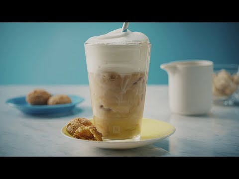 Nespresso Recipe | Iced coffee macchiato