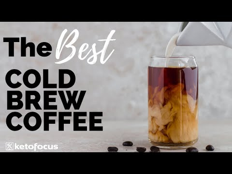 HOMEMADE COLD BREW COFFEE | Easiest Cold Brew Coffee Recipe from Home | Creamy Smooth Cold Brew