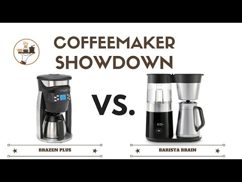 Coffeemaker Showdown 010: Behmor Brazen Plus vs. OXO On Barista Brain