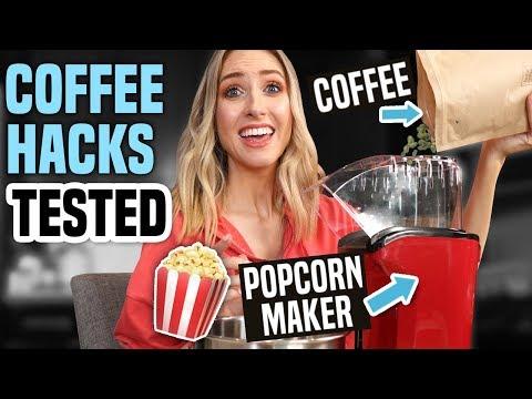 Testing HACKS vs HIGH-END… COFFEE EDITION !!