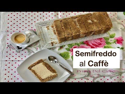 SEMIFREDDO AL CAFFÈ ricetta facile – Coffee Semifreddo easy recipe