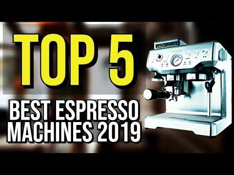 ✅ TOP 5: Best Espresso Machine 2019