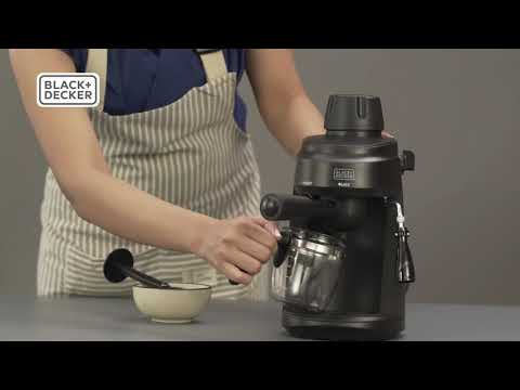 Black & Decker Coffee Maker Demo Video