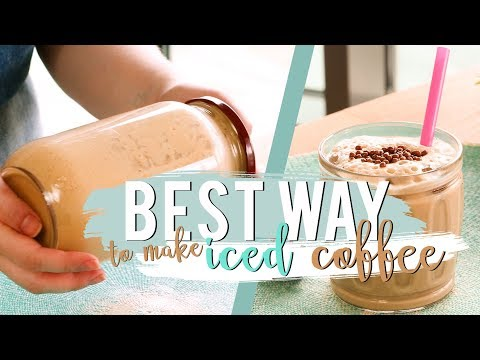 The EASIEST Iced Coffee Recipe Ever! | Best Way to Make Iced Coffee at Home 👌🏻😉