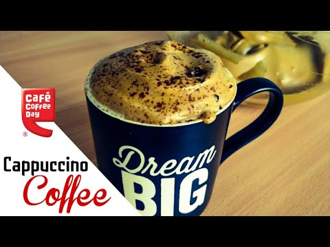 Cappuccino Coffee At Home Only 3 Ingredients Cappuccino Coffee Recipe | FoodCorner
