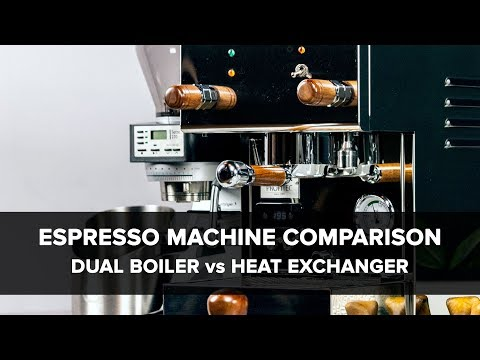 Espresso Machine Comparison: Dual Boiler vs Heat Exchanger