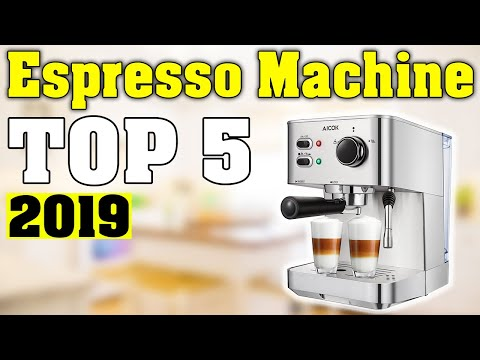 TOP 5: Best Espresso Machine 2019