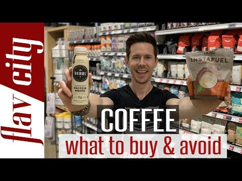 The ULTIMATE Coffee Buying Guide – Beans, Instant, Low Acid, Decaf, Cold Brew, Creamers & More!