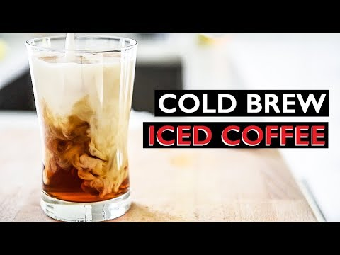 EVERYDAY COLD BREW ICED COFFEE RECIPE | HOW TO MAKE VEGAN