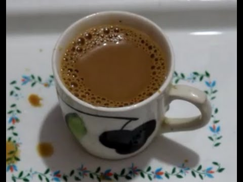 Tea With Coffee | Strong Tea With Coffee Flavor | Indian Beverage Recipe