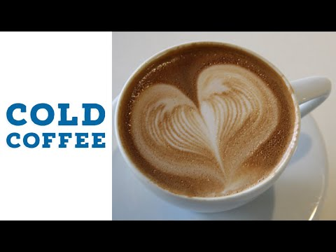 Easy simple homemade COLD COFFEE