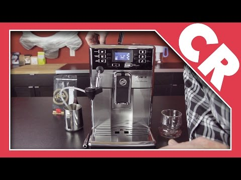 Saeco Pico Baristo Superautomatic Espresso Machine | Crew Review