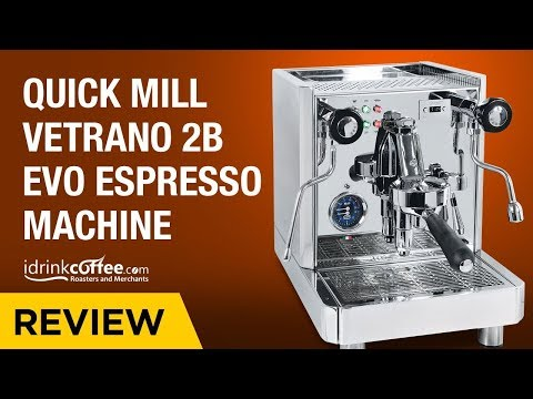 iDrinkCoffee.com Review – Quick Mill Vetrano 2B Evo Espresso Machine