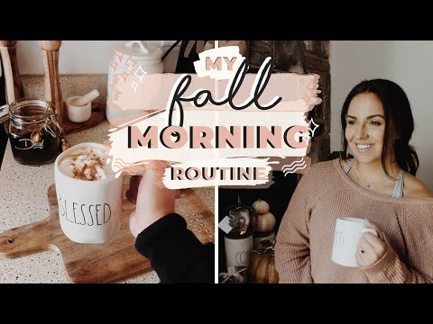 COZY FALL MORNING ROUTINE 2019 | Healthy Habits + The BEST Coffee Recipe