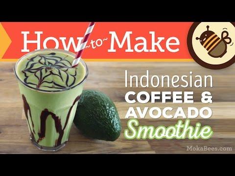 Indonesian Coffee Avocado Smoothie – Es Alpukat Recipe