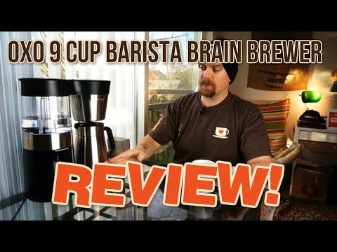 OXO Barista Brain 9 Cup Brewer – An Automated Brewer for Specialty Coffee