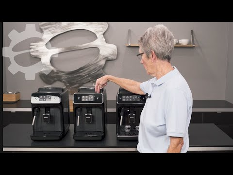 Philips Espresso Machine Line Overview