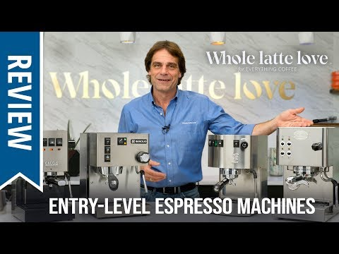 Review: Premium Entry-Level Espresso Machines