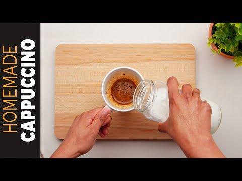 সবচেয়ে সহজ এবং পারফেক্ট ক্যাপাচিনো | The Best and Easy Homemade Cappuccino Recipe| Cappuccino Bangla