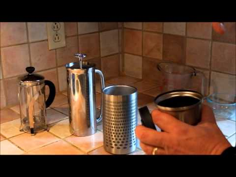 My Demo of the Impress Coffee Brewer