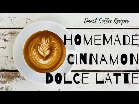 Smart Coffee Recipes: Cinnamon Dolce Latte | EASY & DELICIOUS