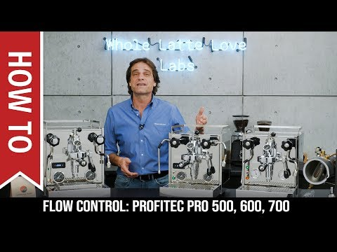 Flow Control for Profitec Pro E61 Group Espresso Machines