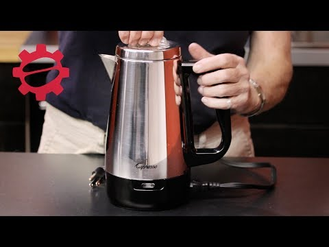 Capresso Perk Electric Percolator | Crew Review