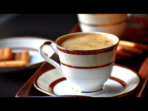 Tea Coffee / cappuccino tea / tea recipe with coffee
