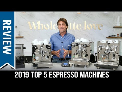 Top 5 Best Semi-Automatic Espresso Machines of 2019