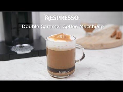 Double Caramel Coffee Macchiato Recipe