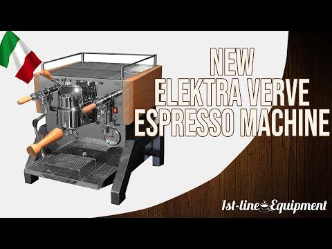 Java Jim in Italy: New Elektra Verve Espresso Machine – Releasing 2020 – Host Milano 2019