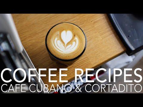 COFFEE RECIPES – Cafe Cubano & Cortadito