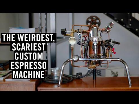 The Weirdest & Scariest Custom Espresso Machine I Own