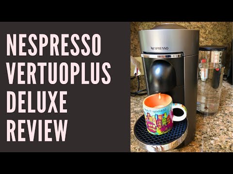 Nespresso VertuoPlus Deluxe Coffee Maker Review & Demonstration