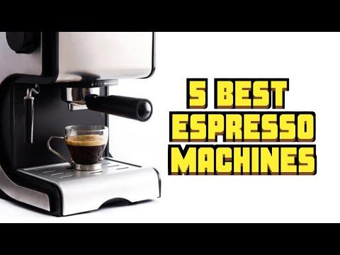 😋😋Best Espresso Machines: On Point QUALITY Espresso Shots (2019) 😋😋