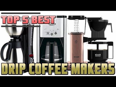 Best Drip coffee maker   Top 5 Drip Coffee Machines Review