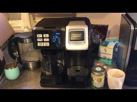 Hamilton Beach Flexbrew Coffeemaker review