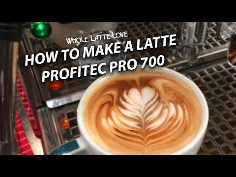 How to Make a Latte on a Profitec Pro 700 Espresso Machine