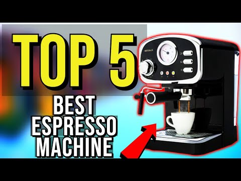 ✅ TOP 5: Best Espresso Machine 2020