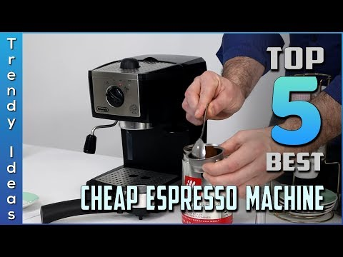 Top 5 Best Cheap Espresso Machine in 2019