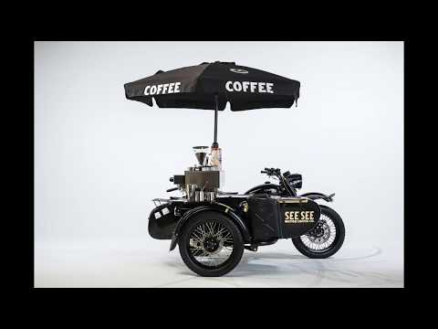 More café than racer: The Ural with a built-in espresso machine