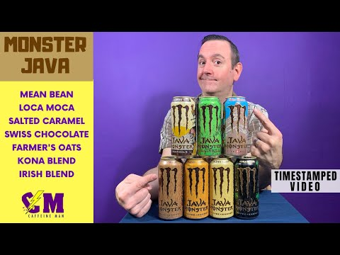 Monster Java Coffee Review; Honest Review of All Monster Java Energy Drink Flavors.