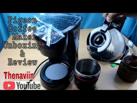 Pigeon Coffee Maker Unboxing & Review | Coffee Maker | Thenaviin
