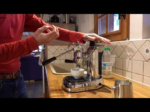 How to use the Pavoni Espresso machine