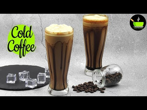 Cold Coffee Recipe | How To Make Cold Coffee | Iced Coffee Recipe | No Fire Cooking