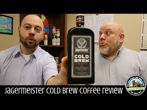 NEW Jagermeister Cold Brew Coffee Review | First Taste Test