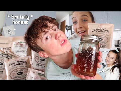 i tried out Emma Chamberlains NEW coffee brand + honest review