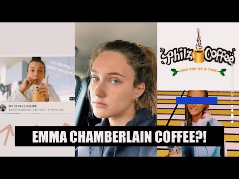 EMMA CHAMBERLAIN COFFEE REVIEW | AnaCarina
