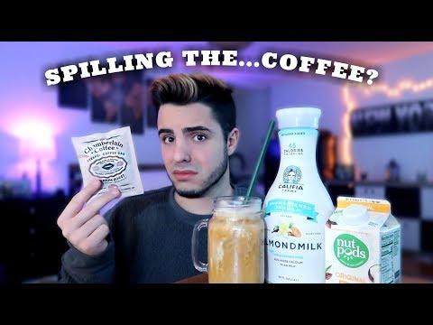 Trying Emma Chamberlains Coffee Brand *her EXACT recipe*