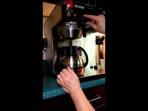 Bunn Coffee Adjusting Brew Volume CWTF Twin – TC